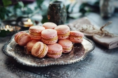 Macaroons by Ange from Wrightswood Cottage