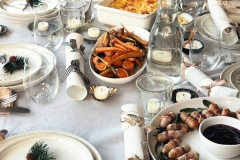 A festive lunch