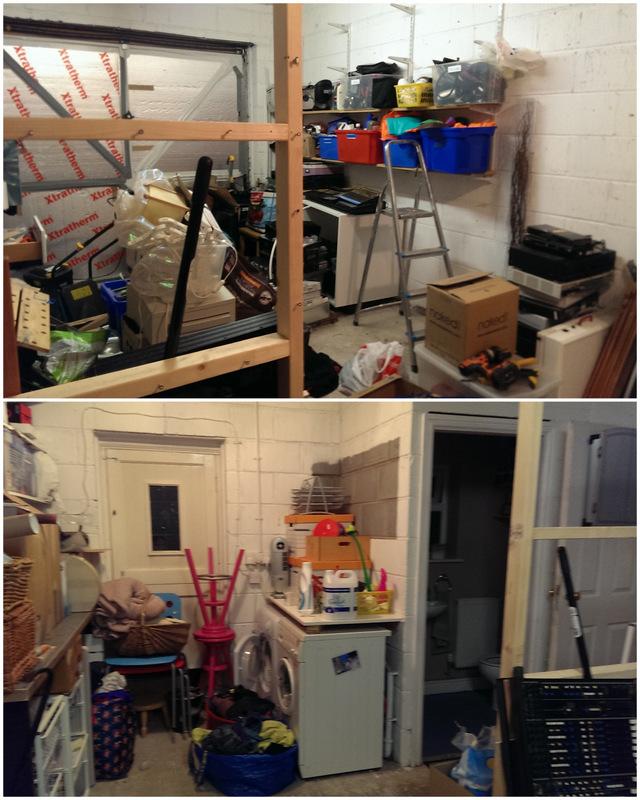 half empty garage