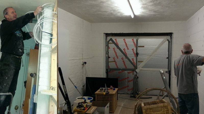 Almost complete garage conversion