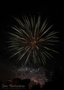 best camera settings for fireworks