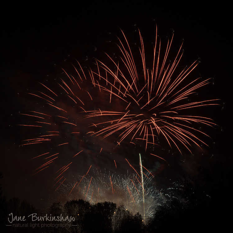 photographing firework displays