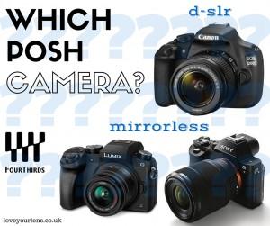 DSLR or mirrorless