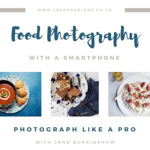 Food photography with a phone